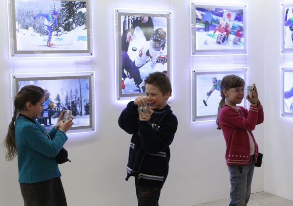 Открытие фотовыставки Спорт без преград