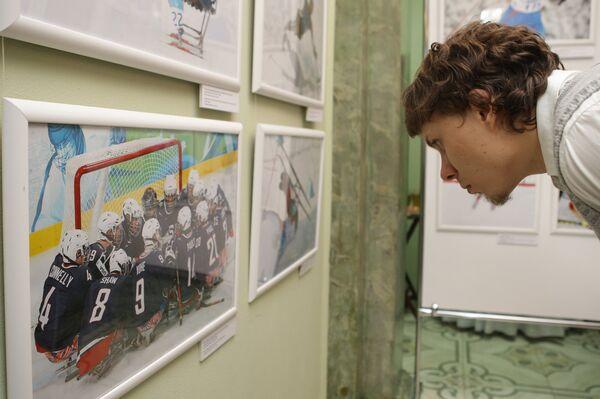 Открытие фотовыставки паралимпийских фотографий в рамках социальной акции «Спорт без преград» в Сочи