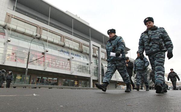Усилены меры безопасности у Киевского вокзала