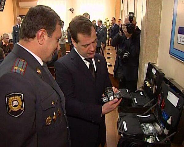 Медведев позавидовал будущим рязанским милиционерам