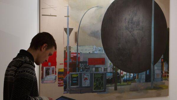 Выставка современного искусства COSMOSCOW. Архивное фото