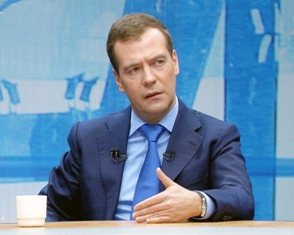 Медведев: откровенно криминальные элементы нужно отсекать от власти