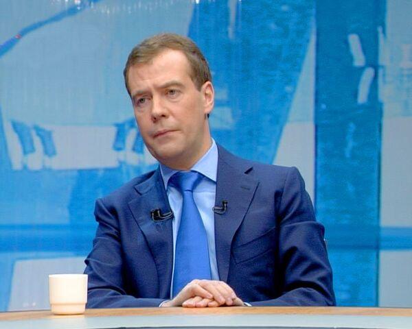 Медведев признался, что у него возникало желание запретить травматику