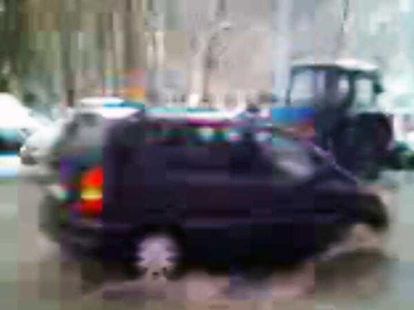 В Москве возникли огромные лужи
