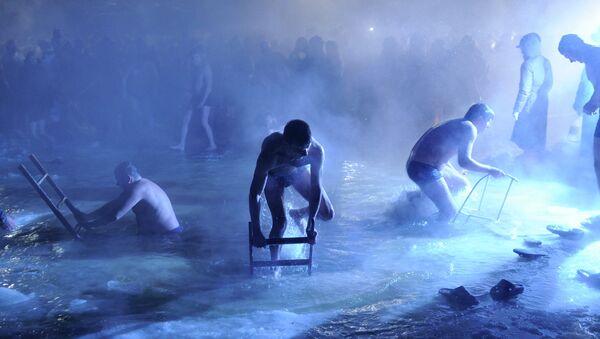 Праздник Крещения Господня в Московской области