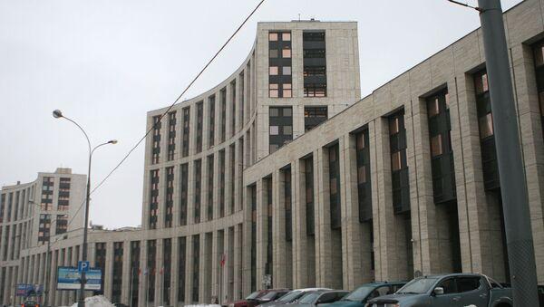 Здание Внешэкономбанка. Архивное фото