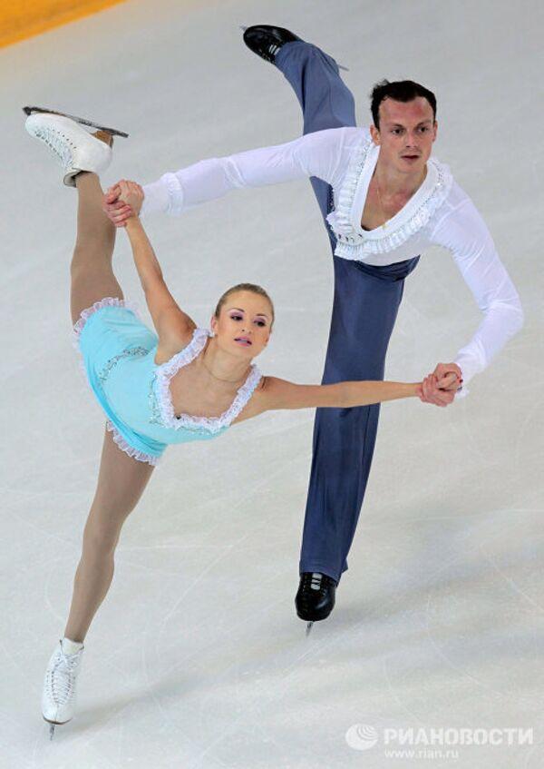 Мария Мухортова и Жером Бланшар