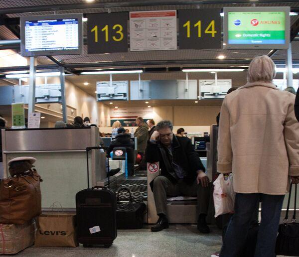 Аэропорт Домодедово постепенно восстанавливает свою работу