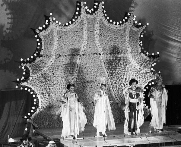 Концерт группы Boney M в Москве. 1978 год.