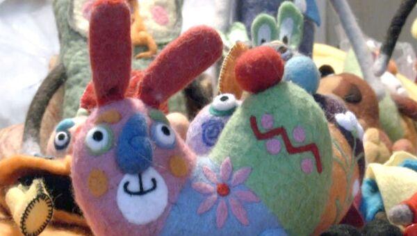 Войлочные зайцы и коты из Рыбинска разъезжаются по всему миру