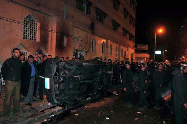 Взрыв в церкви в Александрии (Египет)