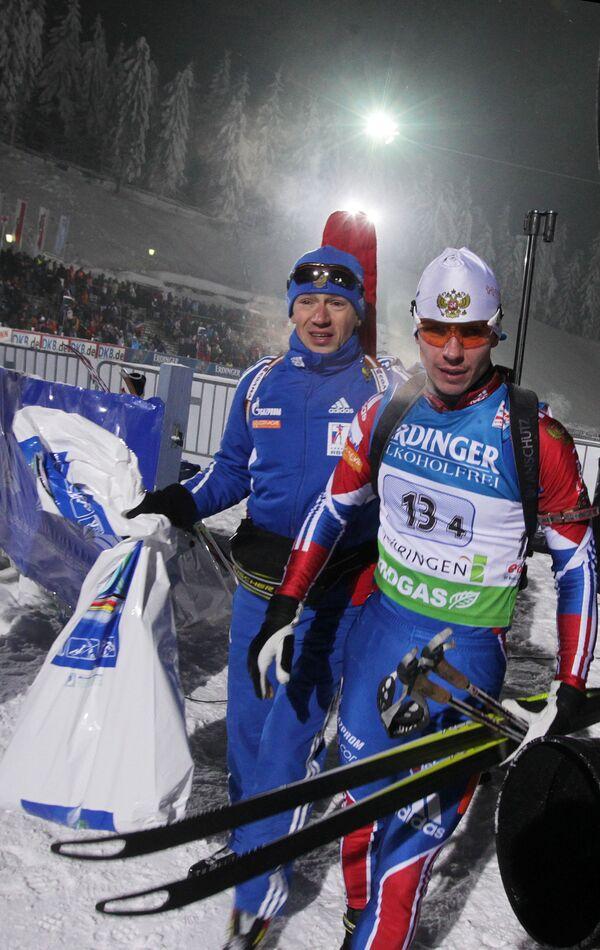 Максим Чудов и Евгений Устюгов (слева направо)