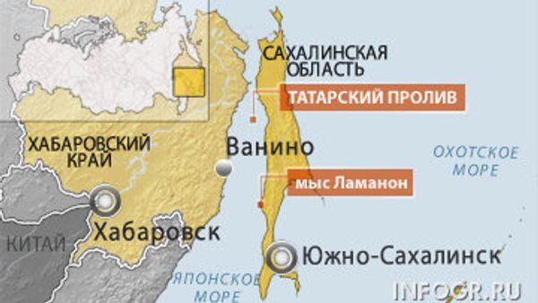 Рыболовная шхуна подала сигнал бедствия в Татарском проливе