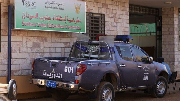 Полиция Судана.