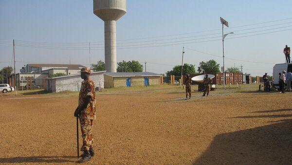Полицейский в Судане. Архивное фото