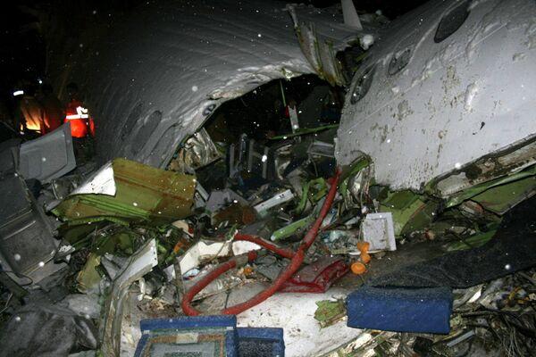 Крушение пассажирского самолета Boeing-727 на северо-западе Ирана 9 января 2011 года