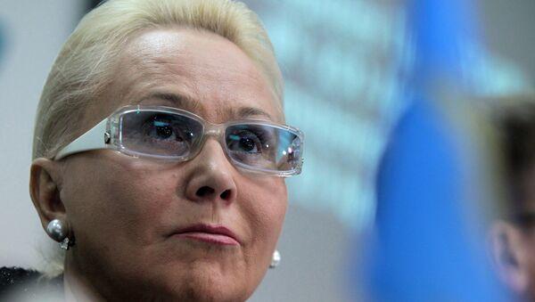 Председатель Межгосударственного авиационного комитета Татьяна Анодина. Архивное фото