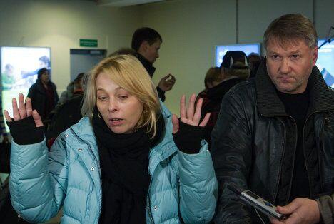 Российские туристы прилетели из Туниса в Москву