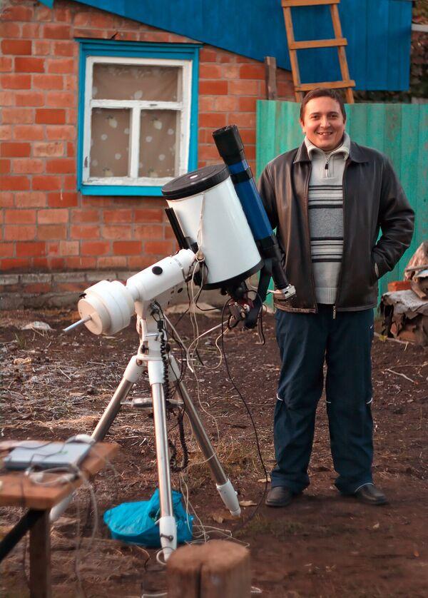 Астроном-любитель Игорь Чекалин - победитель конкурса Европейской южной обсерватории