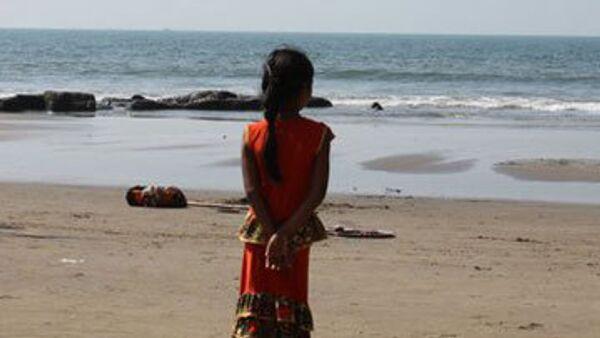 Индийская девочка. Архив