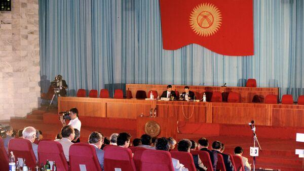 Заседание парламента Киргизии. Архивное фото