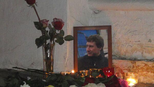 Акция памяти Станислава Маркелова на Пречистенке