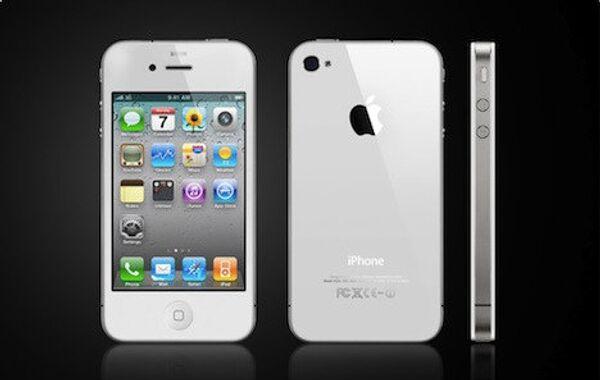 Белый iphone 4. Архив