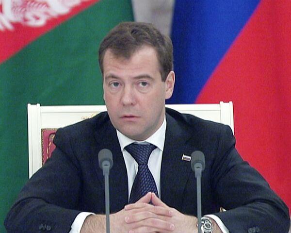 Медведев: каждый военный инцидент в Афганистане нужно расследовать