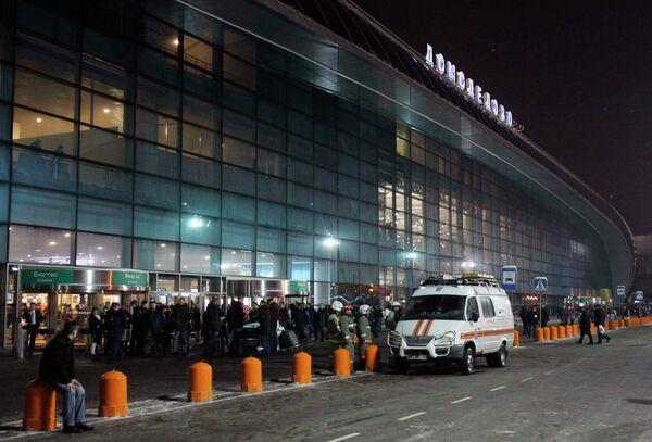 Ситуация в аэропорту Домодедово посл теракта