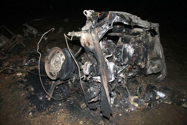 Взрыв у кафе в Хасавюрте
