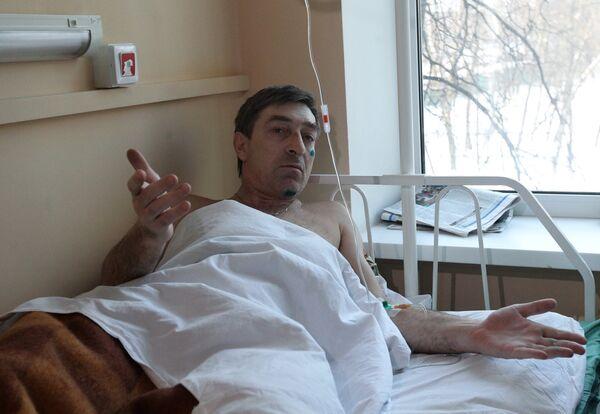 Пострадавшие во время теракта в аэропорту Домодедово в городской клинической больнице № 64