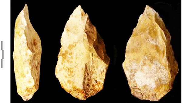 Каменные орудия, найденные в Джебель-Файя