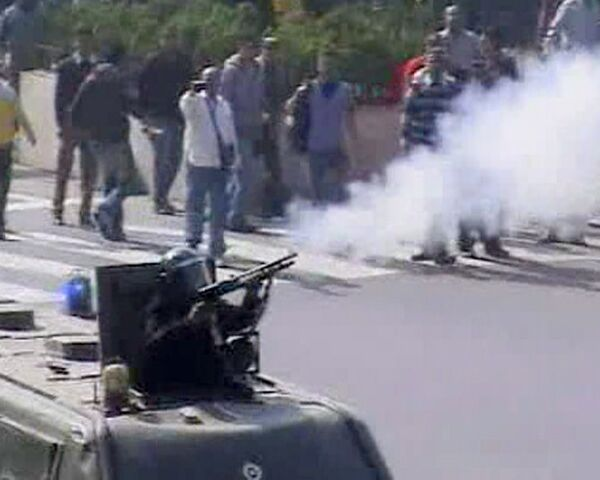 Акция протеста в Каире переросла в столкновения демонстрантов с полицией
