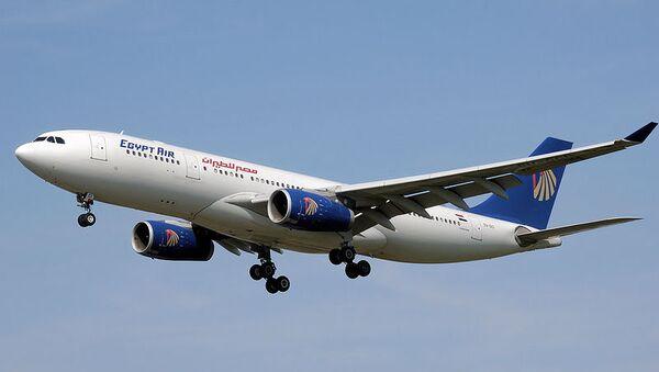 Аэробус авиакомпании Egyptair