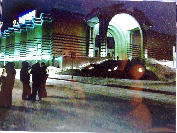 ТЦ Вегас на 24 км МКАДа, который был срочно эвакуирован из-за угрозы взрыва. Архив