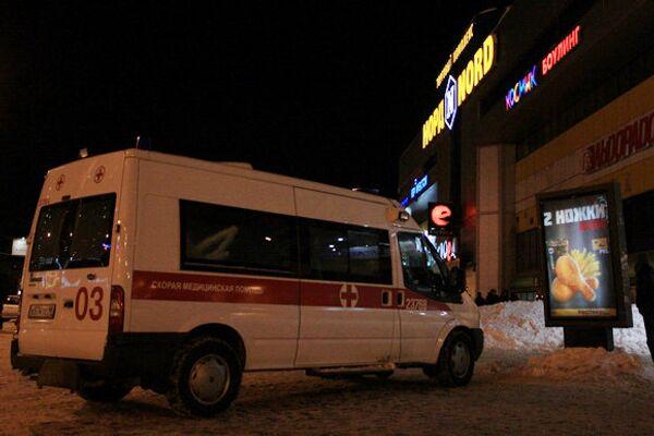 Эвакуация ТЦ Норд в Петербурге