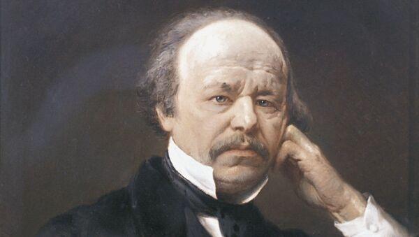 Портрет композитора Даргомыжского кисти В.Е.Маковского