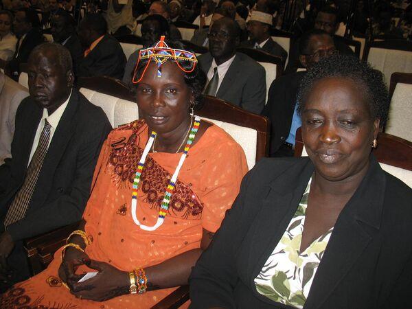 Объявление официальных окончательных итогов референдума по отделению Южного Судана.