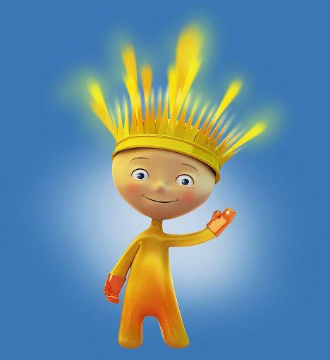Талисманы Олимпиады-2014 - Огненный мальчик