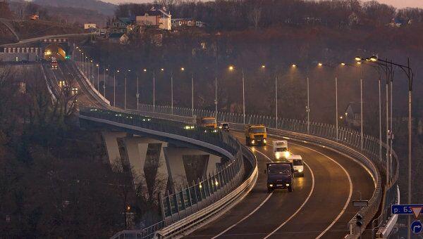 Участок автотрассы Джубга - Сочи. Архивное фото
