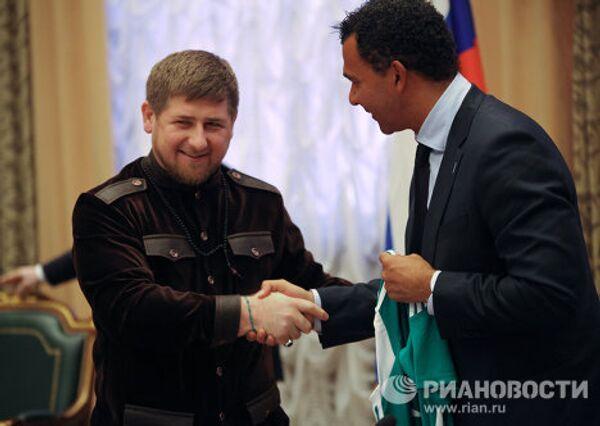 Встреча главы Чеченской Республики Рамзана Кадырова с Рудом Гуллитом