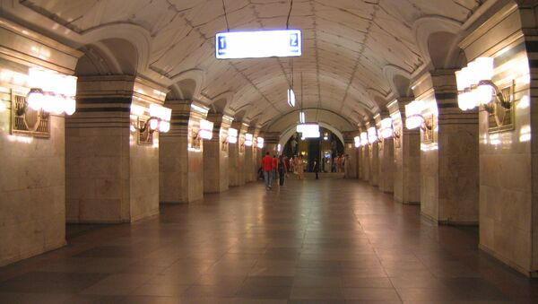 Станция метро Спортивная. Архивное фото