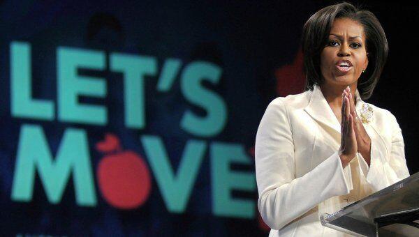 Мишель Обама просит родителей не разрешать детям есть фаст-фуд