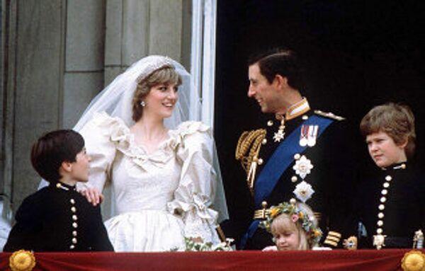 Принцесса Диана и принц Чарльз. Архив