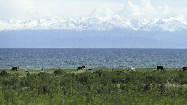 Озеро Иссык-Куль. Архивное фото