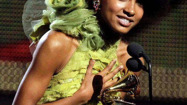 Эсперанса Сполдинг на церемонии вручения наград Grammy