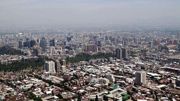 Вид на Сантьяго. Архивное фото
