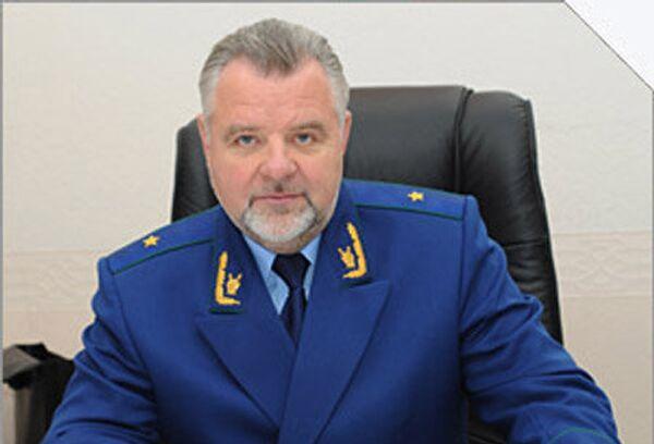 Первый заместитель прокурора Московской области Александр Игнатенко. Архив