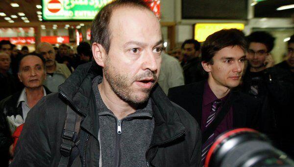Немецкий журналист, освобожденный из тюрьмы в Иране