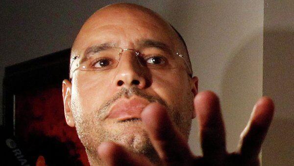 Сын ливийского лидера Муаммара Каддафи Сейф аль-Ислам